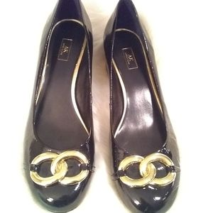 Anne Klein Shoes - AK Anne Klein patent leather shoes sz 10M